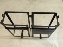 Seam sealed and painted under subframe storage box mounts