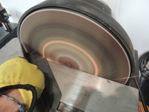 Fabricated pre-heater mount brackets