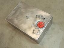 Final assembled gray water tank