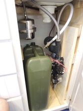 Fit checked under sink pump assembly