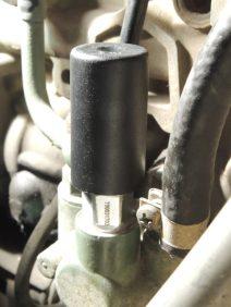 Installed new fuel primer pump