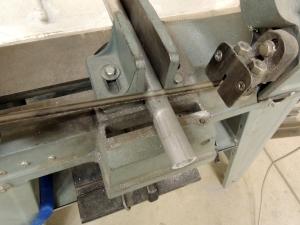 Machined aluminum hose union