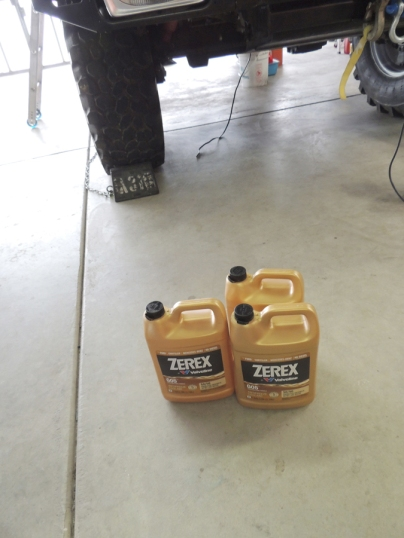 Purchased Zerex G05 50/50 coolant