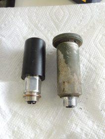 Removed old fuel primer pump