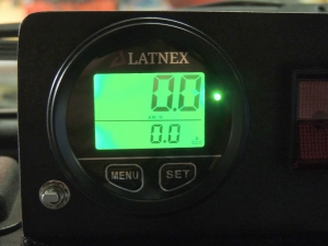 Wired and tested GPS odometer