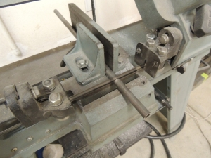 Cut clamp up tubes for mud flap bolts