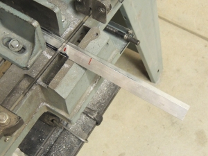 Fabricated bracket assembly for entry door hold open catch