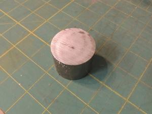 Fabricated hall effect sensor mount for speedometer sending unit