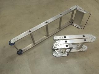 Finished fabricating new folding entry ladder