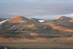 Midnight at the Arctic Circle