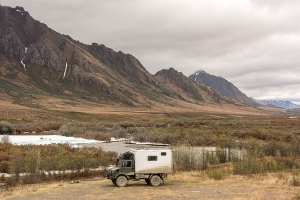 Yukon - Start of Dempster Highway