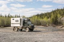 Heading South on the Dempster Highway