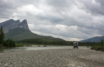 Northbound on the Dalton Highway
