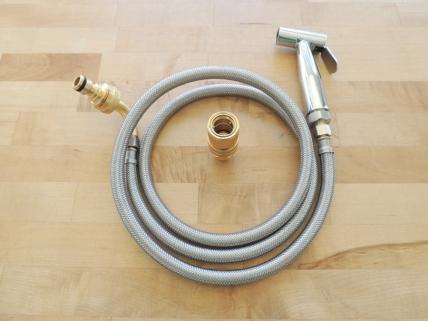 Shower hose and spray head