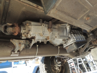 1974 Pinzgauer 710M Engine and Transmission