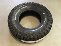New Goodrich All Terrain Tire for Spare