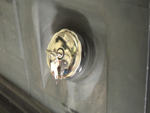 New Locking Pinzgauer Fuel Cap