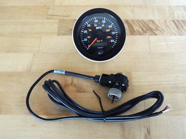 New Programmable Electronic Speedometer