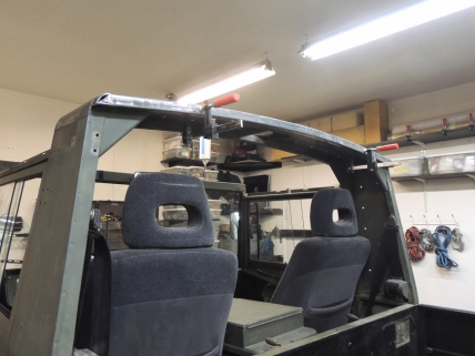 Pinzgauer Curved Roof Beam Fit Check