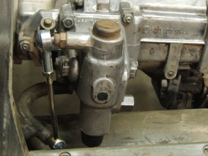 Installed New Pinzgauer Shift Linkage