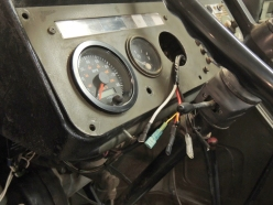 New Wiring for Pinzgauer Electronic Tachometer