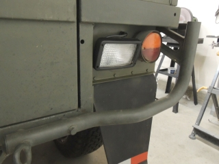 Pinzgauer Custom Reverse Light