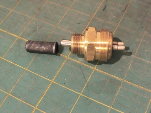 Pinzgauer Reverse Light Switch and Plunger