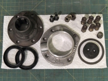 Pinzgauer Transfer Case Input Seal Housing Assembly