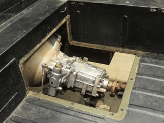 Pinzgauer Transmission Access