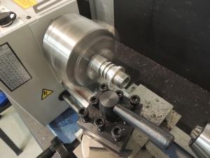 Turning Pinzgauer Speedometer Gear Housing