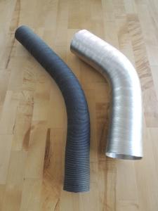 Exhaust Heat Exchanger Air Heater Ducts