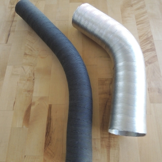 Exhaust Heat Exchanger Air Heater Ducts