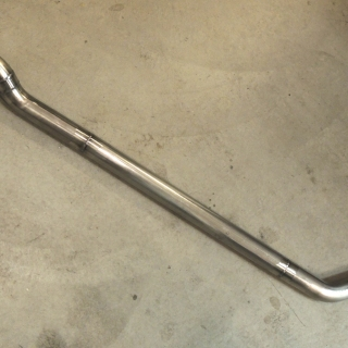 Finished Custom Exhaust Pipe