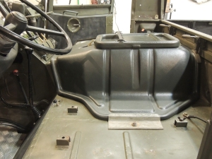 Fit Check of New Pinzgauer Engine Cover