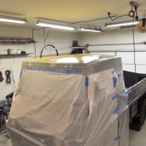 Making Custom Pinzgauer Cab Hardtop - Epoxy Saturated Fiberglass and Kevlar