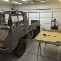 Making Custom Pinzgauer Cab Hardtop - Final Trimmed