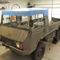 Making Custom Pinzgauer Cab Hardtop - Finished and Shaped Plug