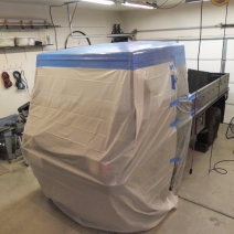 Making Custom Pinzgauer Cab Hardtop - Released Plug and Masked