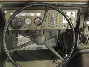 Pinzgauer Tachometer Installed